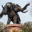 Huge elephant statue — Stock Photo