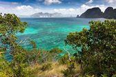 热带海洋景观 — 图库照片