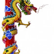 Chinese dragon statue — Stock Photo #43544159