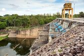 Hydraulic power station — Stock Photo