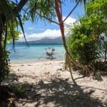 Tropical island paradise — Stock Photo