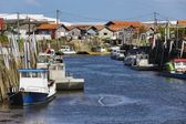 French fishing port — Stock Photo