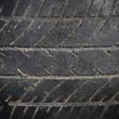 Stock Photo: Abandon car tire texture