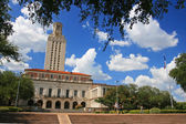 Academic building dome of University of Texas (UT) in Austin — Stock Photo