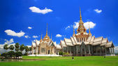 Thai temple landmark named Wat Sorapong in Nakhon Ratchasima or Korat — Stock Photo