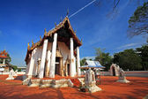 Ancient Thai temple at wat Prasart — Stock Photo