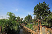 Thai traditional village — Stock Photo
