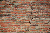 Cracked brick wall texture — Stock Photo