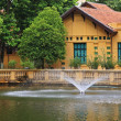 Stock Photo: Ho Chi Minh's Residence in Hanoi, Vietnam