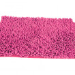 Stock Photo: Pink duster rag isolated