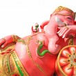 Ganesha, pink elephant, statue isolated — Stock Photo #39082967