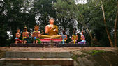 Buddha and sacred god statues — Photo