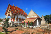 Ancient Thai temple named Wat Chomphuwek — Photo