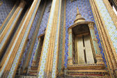 Temple luxury decoration at Wat Phra Kaew — Stock fotografie
