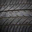 Old tread tire — Stock Photo #39183359