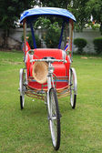 Rickshaw or tricycle — Stock Photo