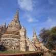 Ancient pagodas in Ayutthaya — Stock Photo #39256627