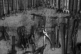 Kolekcja narzędzi garażu — Zdjęcie stockowe