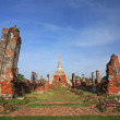 Ancient palaces in Ayutthaya — Stock Photo #39483015