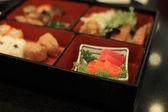 Sashimi on Bento japan box — Stock Photo