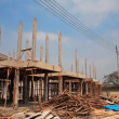 Stock Photo: Building project at Construction Site