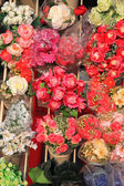 Many kinds of flowers for sale — Stock Photo
