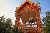 Big drum in Buddhist temple — Zdjęcie stockowe