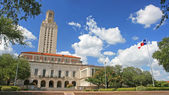 Landscape of  University of Texas (UT) building — Stock Photo