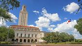 Landscape of  University of Texas (UT) building — Stock Photo