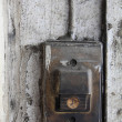 Old entry bell or buzzer — Stockfoto