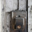 Old entry bell or buzzer — 图库照片
