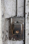 Old entry bell or buzzer  — Foto Stock