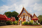 Thai temple architecture in Pathum Thani  — Stock Photo