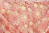 Texturd fundo de tecido floral rosa — Foto Stock