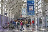 Chicago O'Hare terminal — Stock Photo
