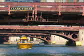Chicago Water Taxi at downtown — Foto de Stock