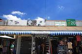 Customers shopping in Chatuchak weekend market — Foto Stock