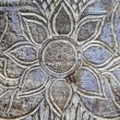Thai flower carving on wood background  — Stock Photo #51022867