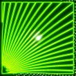 Designed pattern glaring neon green disco light effect — Stock Photo