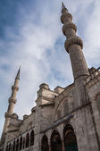 入口处的蓝色清真寺伊斯坦布尔 — 图库照片