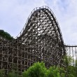 Roller coaster in Everland in South Korea — Stock Photo