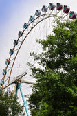 Big ferris wheel in Everland in South Korea — Stock Photo