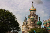 Castle in Everland Theme Park in South Korea — Stock Photo