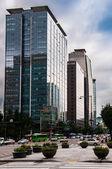 Skyscrapers in Seoul — Stock Photo