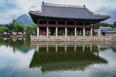 Gyeongbokgung royal Palace building in Seoul — Stock Photo