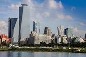 Modern city of Seoul, South Korea — Stock Photo