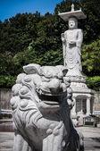 Buda heykeli bongeunsa tapınak Seul, Güney Kore — Stok fotoğraf