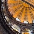 Aya Sofia - Hagia Sophia interior in Istanbul, Turkey — Stock Photo #18086403