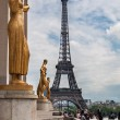 Stock Photo: Eiffel Tower, Paris, France