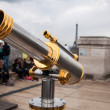 Foto de Stock  : Telescope at Arc de triomphe, Paris, France